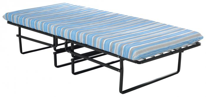 Blantex Heavy-Duty Steel Roll-A-Way Bed with Wheels (375 Pound Capacity)