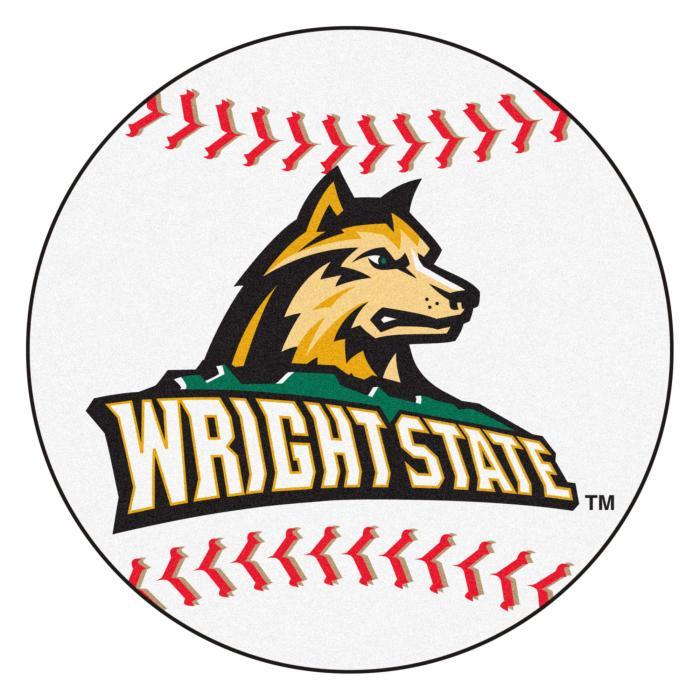 Wright State Raiders Baseball Rug 29 Quot Diameter