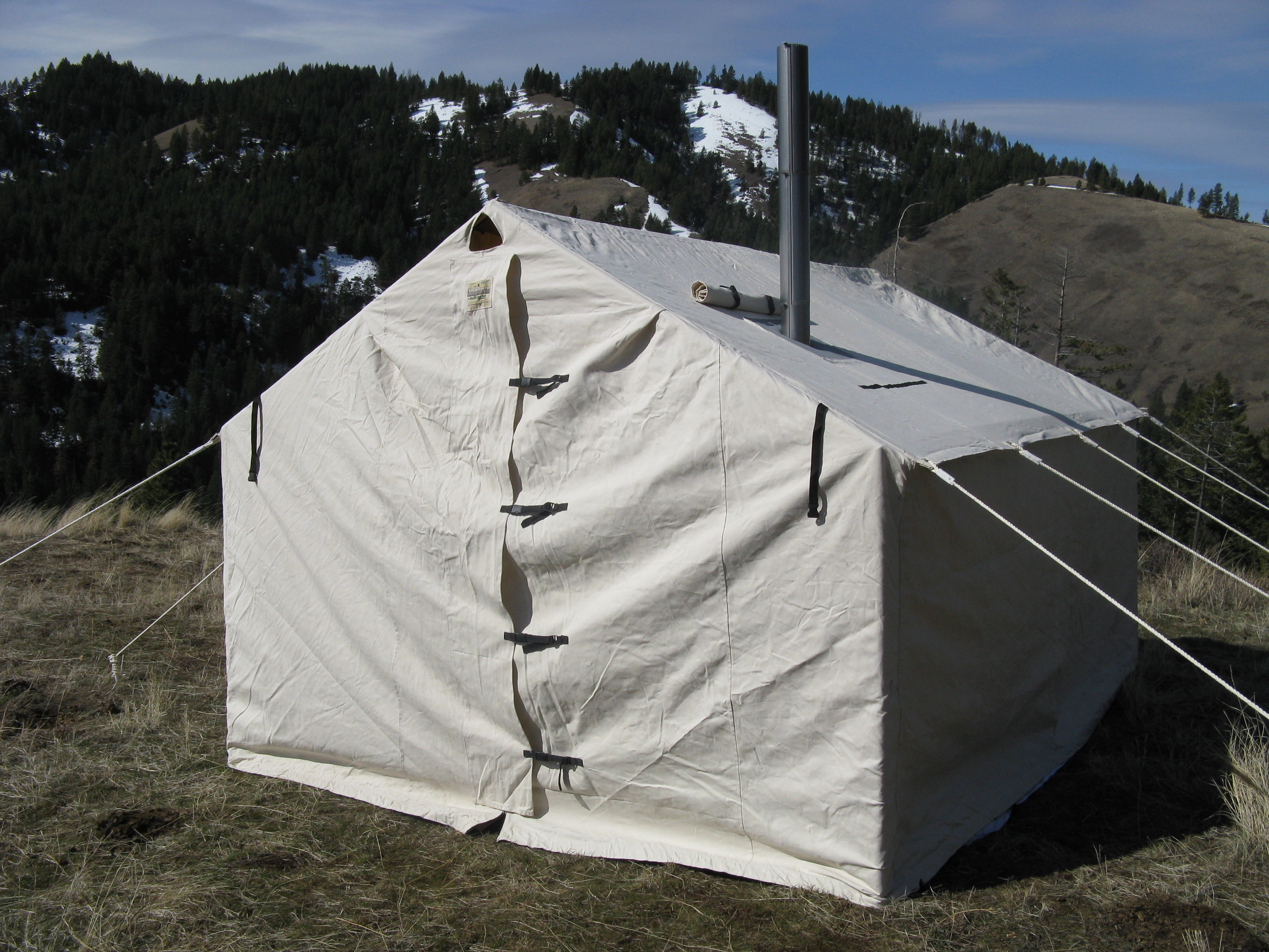 14x16x5ft Magnum Wall Tent and Angle Kits & Magnum Wall Tent and Angle Kits