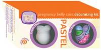 Pastel Pregnancy Belly Cast Decorating Kit
