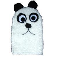 Panda Bear Critter Bath Puppet