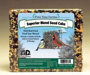 Pine Tree Farms 2 Pound Superior Blend Seed Cake