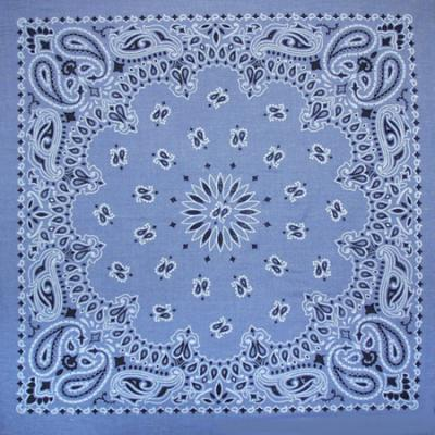 Liberty Mountain Bandana Paisley Chambray Blue