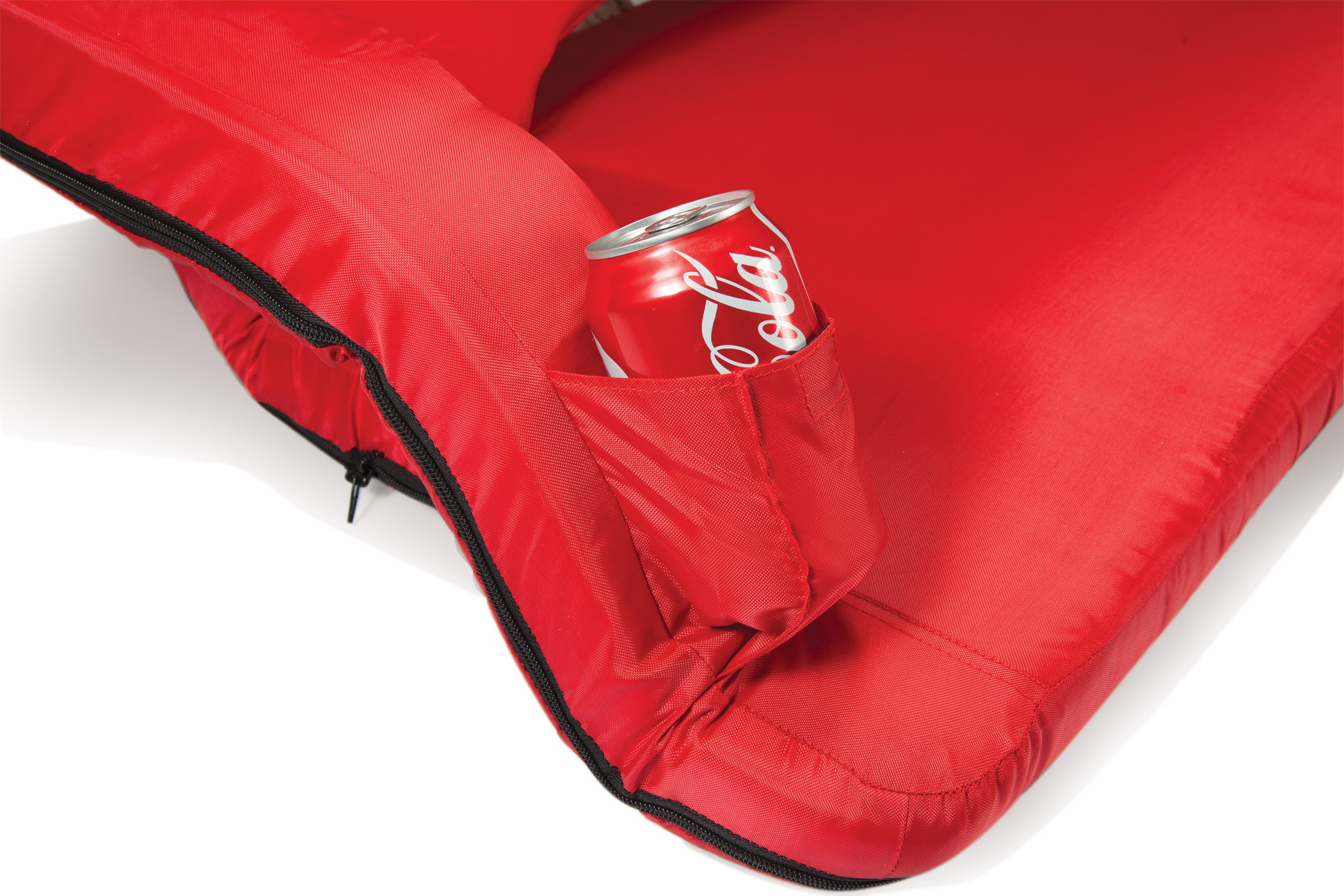 Picnic Time Reflex Portable Reclining Travel Coach Red