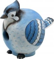 "Songbird Essentials Blue Jay ""Gord-O"" Birdhouse"