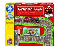 The Original Toy Company Giant Railway Jigsaw