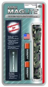 MagLite - AA Mini Mag Camo Flashlight Holster Pack