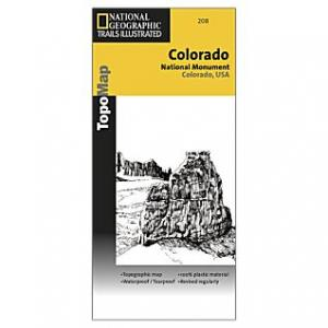 National Geographic Crystal Basin/silver Fork #806