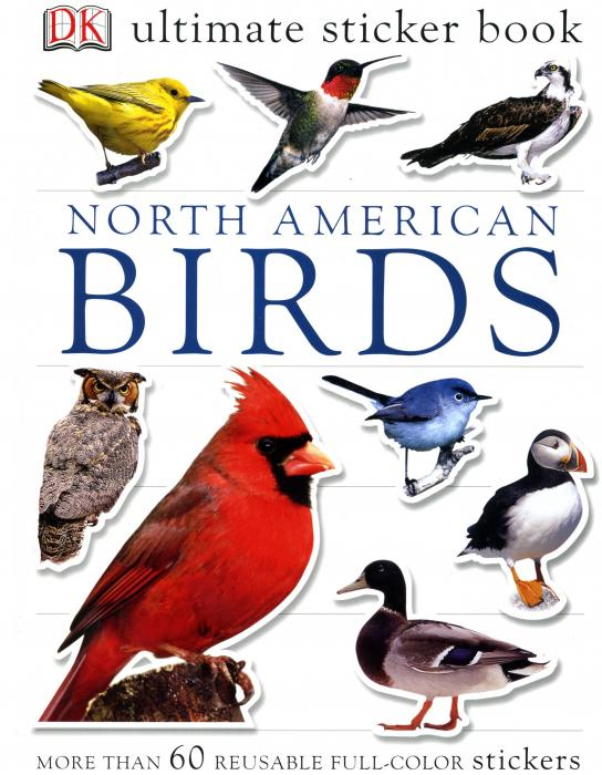 Penguin Group North American Birds Sticker Book