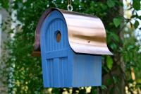 Heartwood Twitter Junction Bird House, Blue