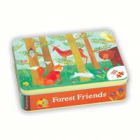 Chronicle Books Forest Friends Puzzle 100 pcs