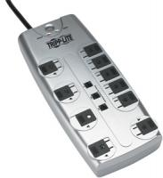 Tripplite TLP1008TEL 10-Outlet Block-Style Surge Protector with Telephone Protection