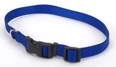 "Coastal Pet Products 6401 Tuff Nylon Adjustable Collar - 5/8"", Blue"