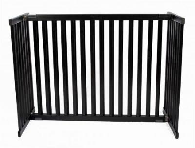 Large Kensington Pet Gate - Black