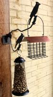 Pinebush Double Metal Hanger with Screw on Bracket FEEDERS NOT INCLUDED
