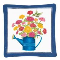 Alice's Cottage Watering Can Single Mug Mat