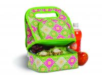 Picnic Plus Savoy Lunch Tote with Storage Container - Green Gazebo