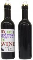 Grape Memories It's not a hangover, its wine flu Clever Saying Ornament