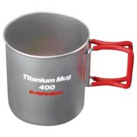Titanium Mug 400 Folding Handle