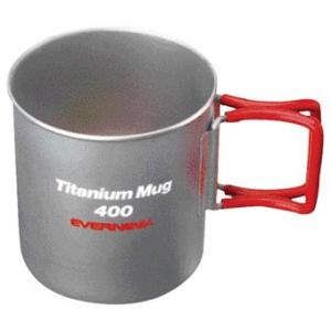 Titanium Mug 400 Folding Handle