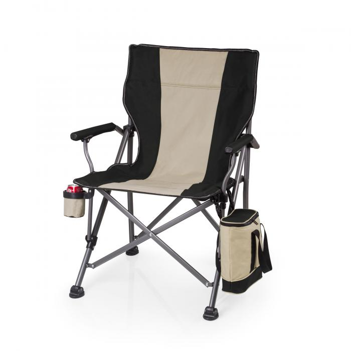 Picnic Time Outlander Camp Chair - Black