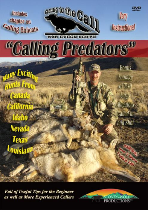 Stoney-Wolf Calling Predators with Byron South - DVD