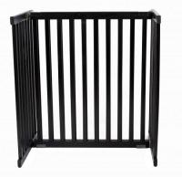 Small Kensington Pet Gate - Black
