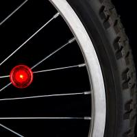 Nite-ize See 'Em LED Spoke Light, Red, 2 Pack