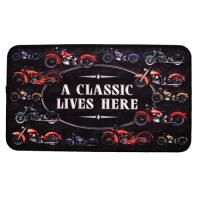 "Rivers Edge Products 18""x30"" Door Mat-A Classic Motorcycle"