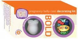 Bold Pregnancy Belly Cast Decorating Kit