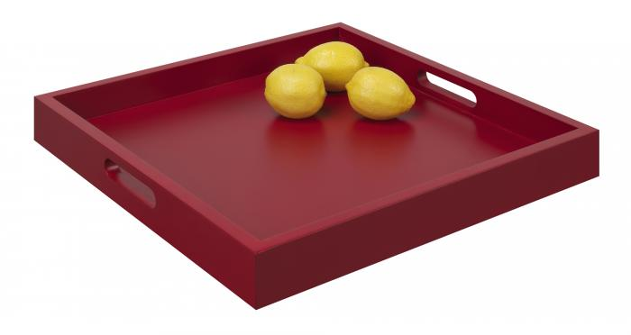 Convenience Concepts Palm Beach Tray, Red