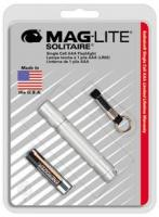 MagLite - Solitaire Flashlight Silver Hanging Pack