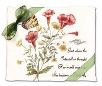 Alice's Cottage Yellow Swallowtail Flour Sack Towel (set of 2)