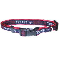Houston Texans NFL Dog Collar - Large