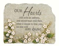Carson Peaceful Reflections Stone Hearts