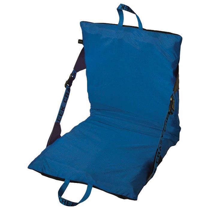 Crazy Creek Compact Air Chair - Black/Blue