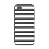 Iluv Pulse Dual-Layer Protection For iPhone 5 - Black