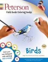 Houghton Mufflin Peterson Field Guide Birds Coloring Book