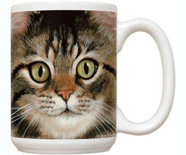 Fiddler's Elbow Tabby Cat 15 oz Mug
