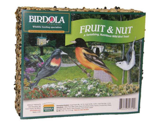 Birdola Products Fruit and Nut Cake