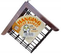 C & S Products Hanging  Suet Bird Feeder with Copper Roof