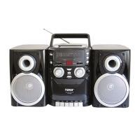 NAXA Mini AM/FM/CD/Cassette Recorder