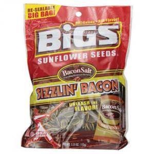 Bigs Seeds Sunflower Seeds - Bacon
