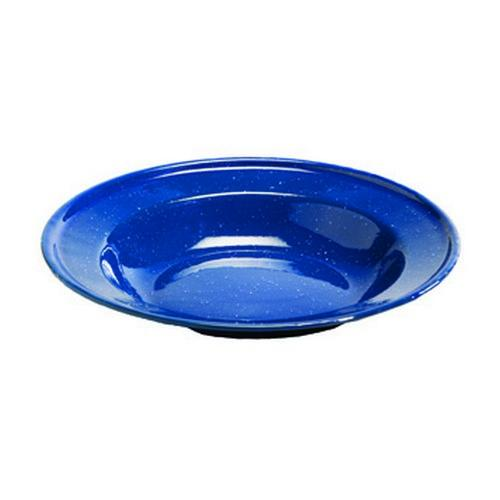 """Texsport Plate, Enamel 8.5"""" Dinner Plate"""