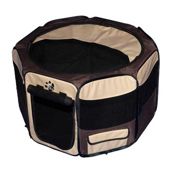 """Pet Gear Travel Lite Soft-Sided Pet Pen with Removable Top Sahara 29"""" x 29"""" x 17"""""""
