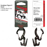 Nite-ize Small Carabiner Single Pack / Black Gates