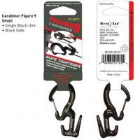 Nite-ize Small Carabiner Single Pack / Black Gates