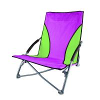 Low Profile Sand Chair - Purple/Green