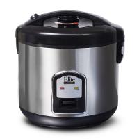 Maxi-Matic Elite DRC-1000B 20-Cup Sealed Rice Cooker, Stainless Steel