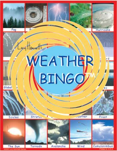Lucy Hammett Games Weather Bingo